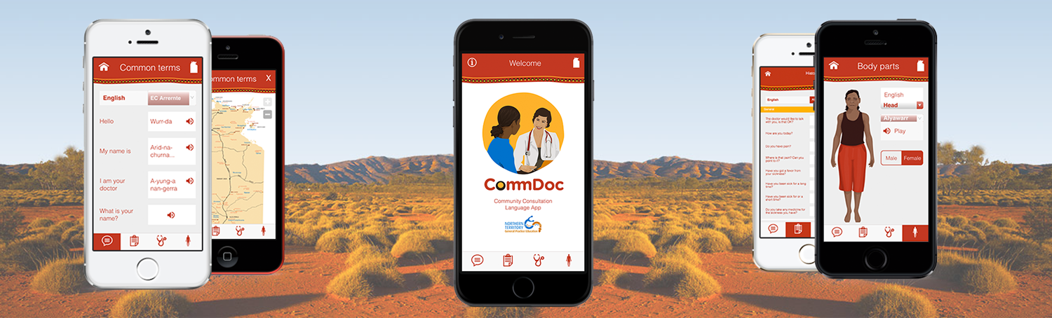 Mobile application for Aboriginal languages spoken in the Northern Territory