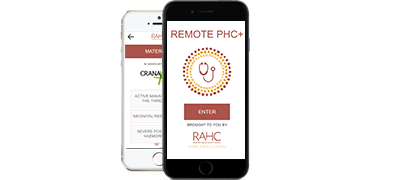 RAHC's Remote PHC+ mobile app