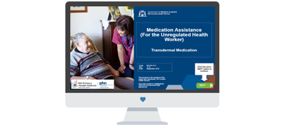 Medication assistance for unregulated health workers